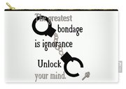Unlock Your Mind Carry-all Pouch