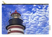 Unmistakable In Any Weather - West Quoddy Head Lighthouse Carry-all Pouch