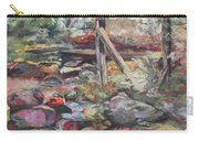 Unseated On Trout Brook Carry-all Pouch