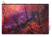 Unset In The Wood Carry-all Pouch