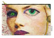 Unsettling Gaze Carry-all Pouch by Sarah Loft