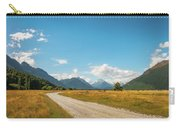 Unspoiled Alpine Scenery From Kinloch-glenorchy Road, Nz Carry-all Pouch
