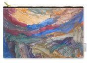 Untitled 107 Original Painting Carry-all Pouch