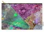 Untitled Abstract Prism Plates V Carry-all Pouch