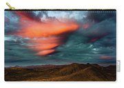 Unusual Clouds Catch Sunset Carry-all Pouch