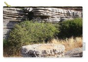Unusual Rock Formations In The El Torcal Mountains Near Antequera Spain Carry-all Pouch