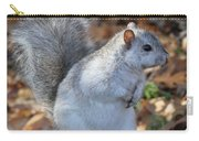 Unusual White And Gray Squirrel Carry-all Pouch
