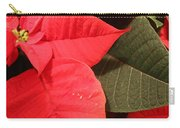 Up Close And Personal Poinsettia  Carry-all Pouch