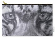 Up Close Clouded Leopard Carry-all Pouch