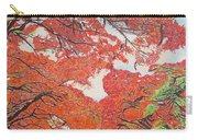 Up Close Flamboyant Carry-all Pouch