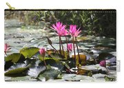 Up Close Water Lilies  Carry-all Pouch