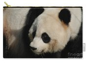 Up Close With A Gorgeous Giant Panda Bear Carry-all Pouch