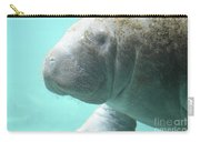 Up Close With A Manatee Carry-all Pouch