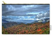Up In The Clouds Blue Ridge Parkway Mountain Art Carry-all Pouch