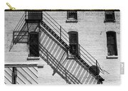 Up The Fire Escape Abstract Carry-all Pouch