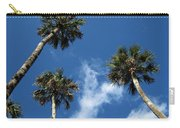 Up To The Sky Palms Carry-all Pouch