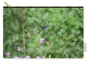 Up, Up And Away-black Swallowtail Butterfly Carry-all Pouch