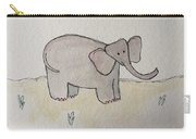 Uplifting Elephant Carry-all Pouch