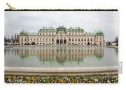 Upper Belvedere And Its Reflection  Carry-all Pouch