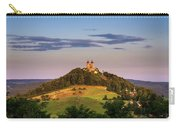 Upper Church With Two Towers In Banska Stiavnica, Slovakia Carry-all Pouch