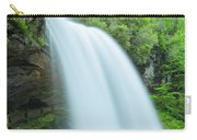 Upper Cullasaja Dry Falls In North Carolina Panorama Carry-all Pouch by Ranjay Mitra