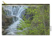 Upper Falls At Mine Kill State Park Carry-all Pouch
