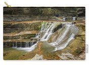 Upper Gorge Falls Of Enfield Glen In Treman State Park Carry-all Pouch