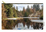 Upper Pond Reflections Carry-all Pouch