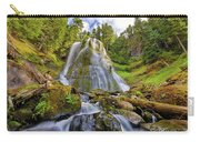 Upper Tier Of Falls Creek Falls In Summer Carry-all Pouch