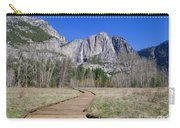 Upper Yosemite Fall And The Trail Carry-all Pouch