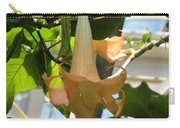 Upside Down Flower Carry-all Pouch