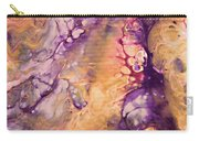 Upside Down Jellyfish And The Chicken Close Up Carry-all Pouch