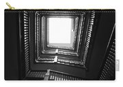 Upstairs- Black And White Photography By Linda Woods Carry-all Pouch