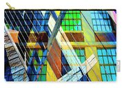 Urban Abstract 123 Carry-all Pouch