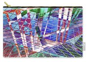 Urban Abstract 411 Carry-all Pouch