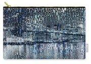 Urban-art Nyc Brooklyn Bridge I Carry-all Pouch by Melanie Viola
