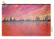 Urban Cityscapes In Twilight Carry-all Pouch