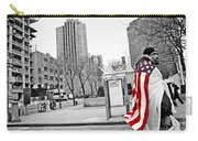Urban Flag Man Carry-all Pouch