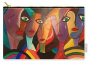 Urban Painting Carry-all Pouch