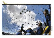 U.s. Air Force Academy Graduates Throw Carry-all Pouch by Stocktrek Images