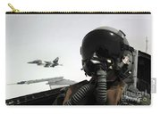U.s. Air Force Pilot Takes Carry-all Pouch