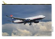 Us Airways A330-200 N280ay Carry-all Pouch