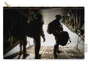 U.s. Army Green Berets Wait To Jump Carry-all Pouch