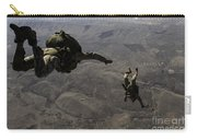 U.s. Army Soldiers Conduct A Halo Jump Carry-all Pouch