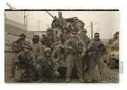 U.s. Army Soldiers Pose For A Photo Carry-all Pouch