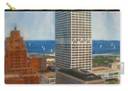 Us Bank And Sailboats Carry-all Pouch