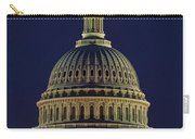 U.s. Capitol At Night Carry-all Pouch