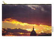 U.s. Capitol Dome At Sunset Carry-all Pouch