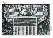 Us Dollar Eagle Carry-all Pouch