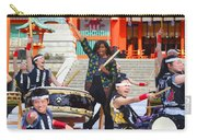 U.s. First Lady Michelle Obama  Plays The Taiko Drum  Carry-all Pouch